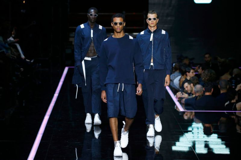 Emporio Armani - Runway - Milan Fashion Week Spring/Summer 2019