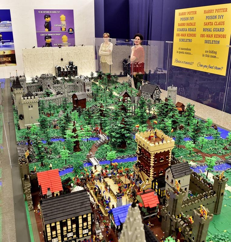Apertura della Mostra I Love Lego alla Permanente di Milano